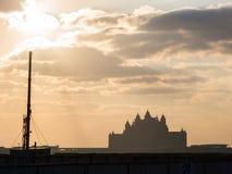 ΝΤΟΥΜΠΑΙ, Ε.Α.Ε. 15 ΙΑΝΟΥΑΡΊΟΥ: Ουρανοξύστες στο κέντρο πόλεων τον Ιανουάριο Στοκ Εικόνες
