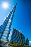 ΝΤΟΥΜΠΑΙ, Ε.Α.Ε. Burj Ντουμπάι Στοκ Φωτογραφίες