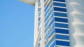 ΝΤΟΥΜΠΑΙ, ΗΝΩΜΕΝΑ ΑΡΑΒΙΚΆ ΕΜΙΡΆΤΑ, Ε.Α.Ε. - 20 ΝΟΕΜΒΡΊΟΥ 2017: Al Άραβας, μια κινηματογράφηση σε πρώτο πλάνο Burj ξενοδοχείων ενό φιλμ μικρού μήκους