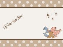 ντους καρτών μωρών Στοκ Εικόνες
