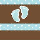 ντους καρτών μωρών Στοκ φωτογραφίες με δικαίωμα ελεύθερης χρήσης