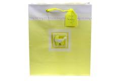 ντους μωρών giftbag Στοκ Εικόνες