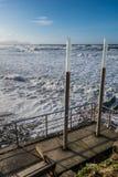 Ντους παραλιών Sopelana Στοκ φωτογραφία με δικαίωμα ελεύθερης χρήσης