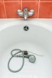 Ντους στην μπανιέρα Στοκ Φωτογραφίες