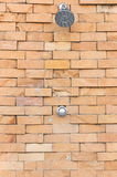 Ντους στον τοίχο Στοκ Εικόνα