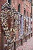 Ντουλάπια αγάπης στο Τορόντο στοκ φωτογραφίες