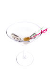 ντροπαλή martini ελιά Στοκ Εικόνες