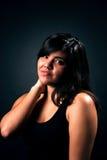 ντροπαλός εφηβικός κορι&ta Στοκ εικόνες με δικαίωμα ελεύθερης χρήσης