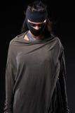 Ντυμένες γυναίκες με τα διαφορετικά σχέδια ως γυναίκες πολεμιστών στοκ εικόνες με δικαίωμα ελεύθερης χρήσης
