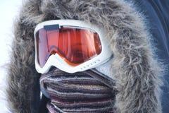 ντυμένος κρύο καιρός Στοκ φωτογραφία με δικαίωμα ελεύθερης χρήσης