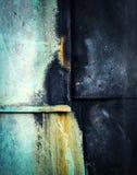 Ντυμένος με συνδέει το παλαιό φύλλο χαλκού Στοκ εικόνες με δικαίωμα ελεύθερης χρήσης