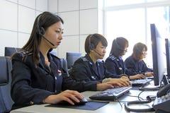Ντυμένος στους διοικητές στολών των γυναικών στοκ φωτογραφία με δικαίωμα ελεύθερης χρήσης
