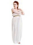 ντυμένο κοστούμι ελληνι&kap στοκ εικόνα