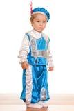ντυμένο μικρό παιδί κοστο&upsil Στοκ Εικόνες