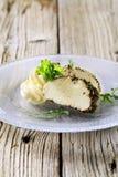 ντυμένο τυρί χορτάρι Στοκ φωτογραφίες με δικαίωμα ελεύθερης χρήσης