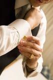 ντύνοντας ανώτερος υπάλλ&et Στοκ Εικόνες