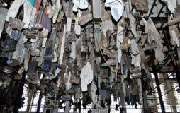 ντύνοντας δωμάτιο ανθρακ&omeg Στοκ Φωτογραφία