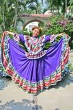 ντύνοντας λατινικά στοκ φωτογραφία