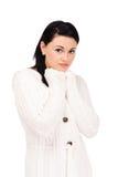 ντύνοντας πλεκτές εσθήτα &n Στοκ Εικόνα