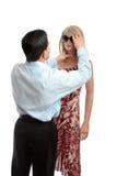 ντύνοντας πωλητής μανεκέν στοκ φωτογραφία με δικαίωμα ελεύθερης χρήσης
