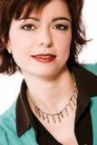 ντύστε τη χειλική κόκκινη γυναίκα στοκ εικόνες με δικαίωμα ελεύθερης χρήσης