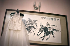 ντύστε το γάμο στοκ φωτογραφία με δικαίωμα ελεύθερης χρήσης