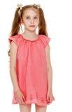 ντύστε το ροζ κοριτσιών Στοκ φωτογραφίες με δικαίωμα ελεύθερης χρήσης