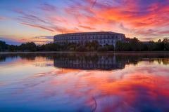 Νυρεμβέργη & ηλιοβασίλεμα Στοκ φωτογραφία με δικαίωμα ελεύθερης χρήσης