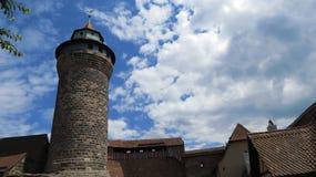 Νυρεμβέργη Castle Στοκ Εικόνες