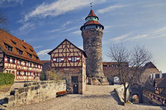 Νυρεμβέργη Castle Στοκ εικόνα με δικαίωμα ελεύθερης χρήσης