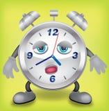 Νυσταλέο ρολόι Στοκ Εικόνες