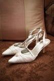 νυφικά παπούτσια Στοκ φωτογραφία με δικαίωμα ελεύθερης χρήσης