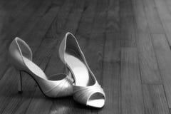 νυφικά παπούτσια Στοκ Φωτογραφία
