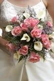 νυφικός γάμος ανθοδεσμών Στοκ Εικόνες