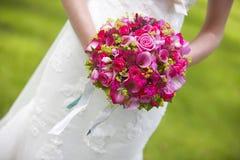 νυφικός γάμος ανθοδεσμών Στοκ Φωτογραφίες