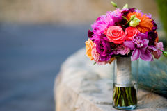νυφικός γάμος ανθοδεσμών Στοκ Φωτογραφία