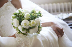 Νυφικό λουλούδι Στοκ Εικόνα