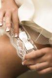νυφικό garter στοκ εικόνα με δικαίωμα ελεύθερης χρήσης