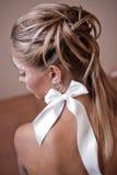 νυφικό hairstyle Στοκ Φωτογραφία