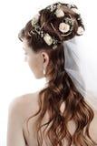 νυφικό hairstyle Στοκ Φωτογραφίες