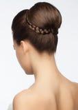 Νυφικό Hairstyle Στοκ φωτογραφίες με δικαίωμα ελεύθερης χρήσης