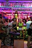 Νυχτερινή ζωή σε Pattaya Στοκ Εικόνες