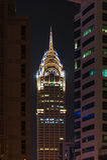Νυχτερινή ζωή στη μαρίνα του Ντουμπάι Ε.Α.Ε. 12 Νοεμβρίου 2012 Στοκ Εικόνες
