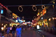 Νυχτερινή ζωή της Καμπότζης Στοκ εικόνες με δικαίωμα ελεύθερης χρήσης