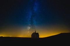 νυχτερινός ουρανός αστραπής απεικόνισης αφαίρεσης Στοκ Εικόνες
