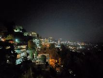 Νυχτερινός ουρανός στην Ινδία στοκ εικόνα με δικαίωμα ελεύθερης χρήσης