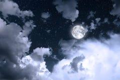 νυχτερινός ουρανός Στοκ εικόνες με δικαίωμα ελεύθερης χρήσης