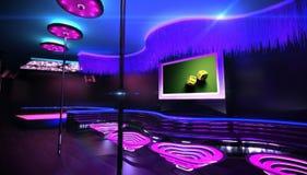 Νυχτερινό κέντρο διασκέδασης καραόκε Στοκ Φωτογραφίες