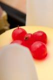 νωποί καρποί σταφίδων κέικ μούρων Στοκ εικόνα με δικαίωμα ελεύθερης χρήσης
