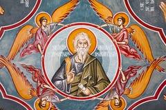 νωπογραφία εκκλησιών Στοκ Εικόνες